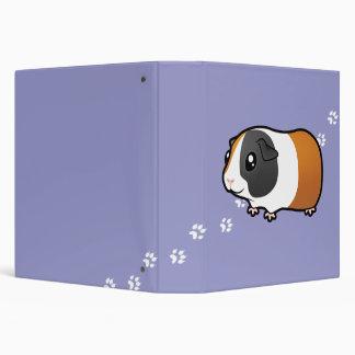 """Conejillo de Indias del dibujo animado (pelo liso) Carpeta 1 1/2"""""""