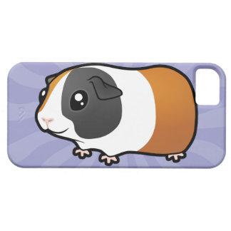 Conejillo de Indias del dibujo animado (pelo liso) iPhone 5 Case-Mate Carcasas