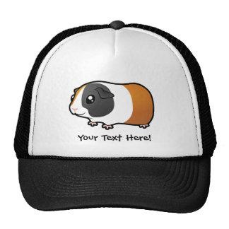 Conejillo de Indias del dibujo animado (pelo liso) Gorras