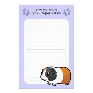 Conejillo de Indias del dibujo animado (pelo liso) Papeleria