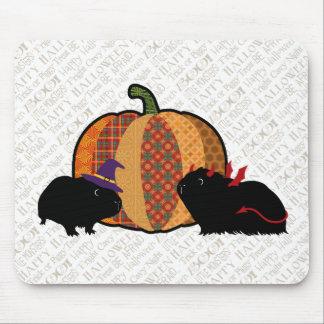 Conejillo de Indias Halloween Tapetes De Raton