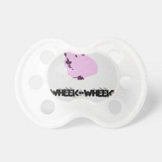 Conejillo de Indias rosado del wheek del wheek Chupetes Para Bebes