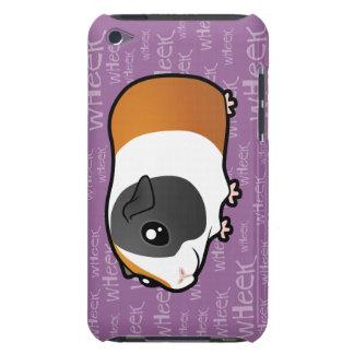 Conejillo de Indias ruidoso pelo liso iPod Touch Protectores