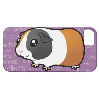 Conejillo de Indias ruidoso (pelo liso) iPhone 5 Case-Mate Protectores