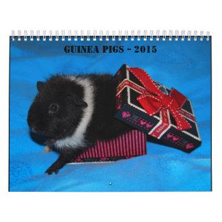 Conejillos de Indias - 2015 Calendario