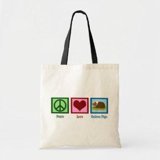 Conejillos de Indias del amor de la paz Bolsa