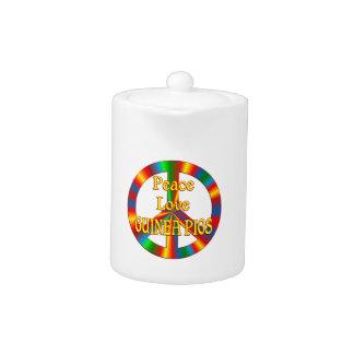 Conejillos de Indias del amor de la paz