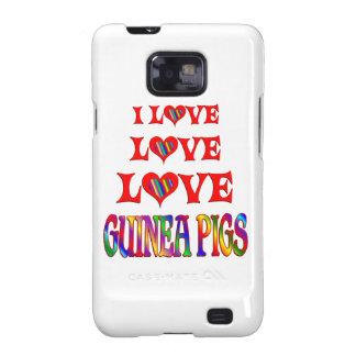 Conejillos de Indias del amor del amor Galaxy S2 Fundas