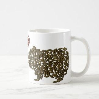 Conejillos de Indias en amor Taza De Café
