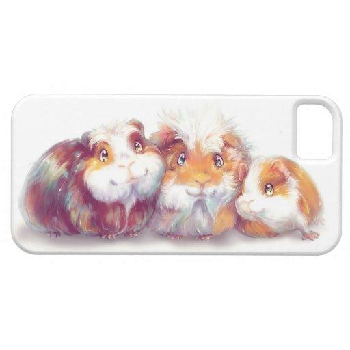 Conejillos de Indias lindos iPhone 5 Carcasas