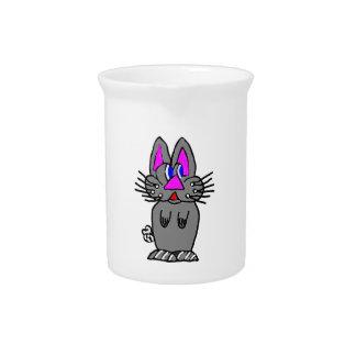 Conejito adorable jarron