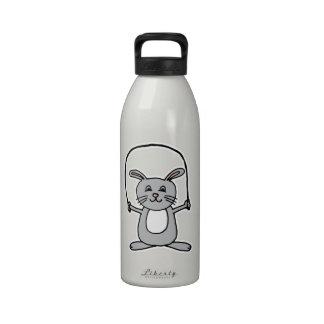 Conejito Botella De Agua Reutilizable
