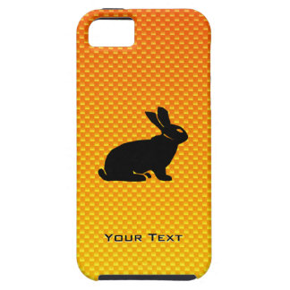 Conejito amarillo/anaranjado iPhone 5 funda