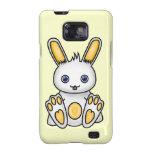 Conejito amarillo de Kawaii Galaxy S2 Carcasas
