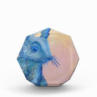 conejito azul