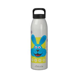 Conejito azul botellas de beber