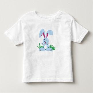 Conejito azul - camiseta del niño