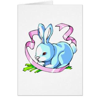 conejito azul ribbon.png púrpura tarjeta pequeña