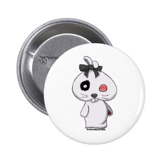 Conejito blanco del Beanbag Pins