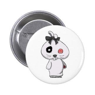Conejito blanco del Beanbag Pin