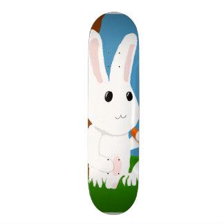 conejito blanco tablas de skate