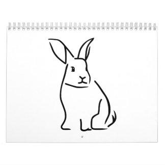 Conejito Calendarios De Pared