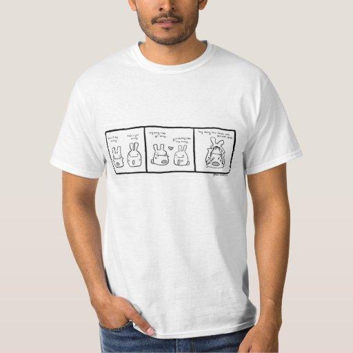 conejito cómico - camiseta remeras