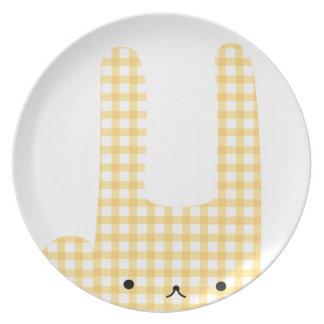conejito comprobado platos de comidas
