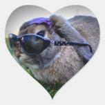 Conejito con las gafas de sol/pegatina