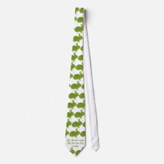 Conejito cruzado caliente para Pascua Corbata Personalizada