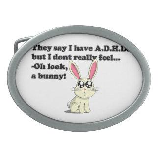 Conejito de ADHD Hebillas Cinturon