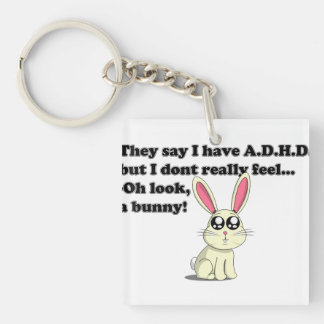 Conejito de ADHD Llaveros