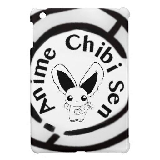 Conejito de Chibi iPad Mini Cárcasas