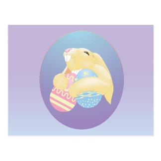 Conejito de Eggy Postales