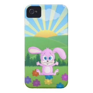 Conejito de Huggy - caja soleada de las colinas iPhone 4 Carcasa