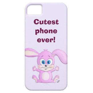 Conejito de Huggy - el teléfono más lindo nunca iPhone 5 Cárcasas