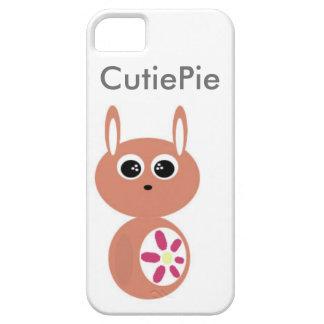 Conejito de la Cutie-Empanada iPhone 5 Funda