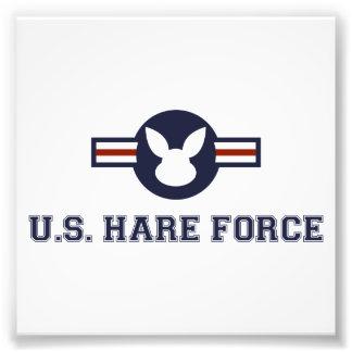Conejito de la fuerza aérea de las liebres de cojinete