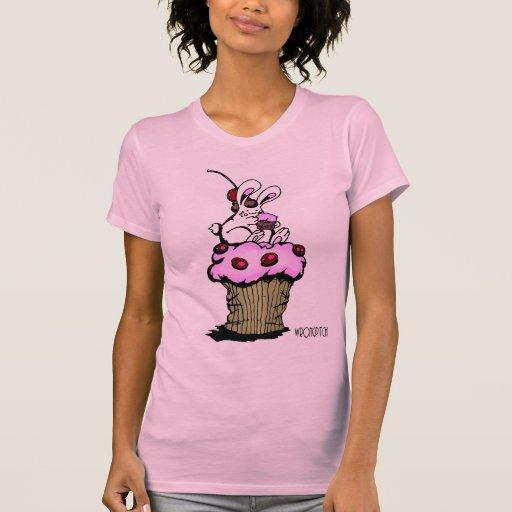 conejito de la magdalena camiseta