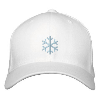 Conejito de la nieve gorra bordada