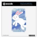 Conejito de la nieve skins para iPod touch 4G