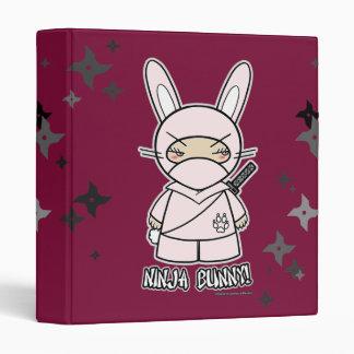 ¡Conejito de Ninja! Con la carpeta de Shurikens
