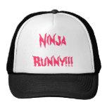 ¡Conejito de Ninja!!! Gorras