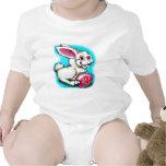 Conejito de pascua 2 traje de bebé