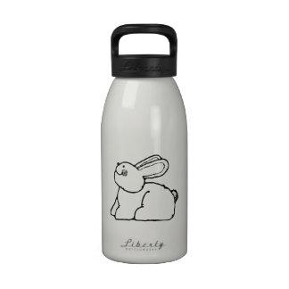 Conejito de pascua botellas de agua reutilizables