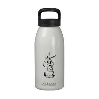 Conejito de pascua botella de agua reutilizable
