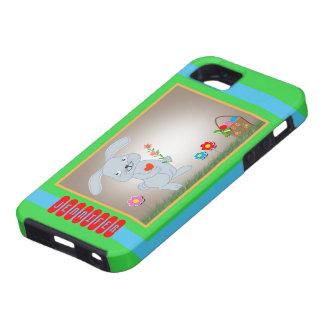 Conejito de pascua, caso iPhone 5 Case-Mate carcasa