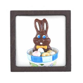 Conejito de pascua del chocolate cajas de regalo de calidad