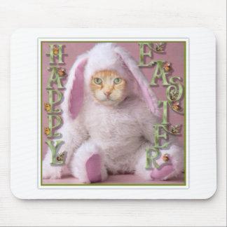 Conejito de pascua del gato Claude Tapete De Raton