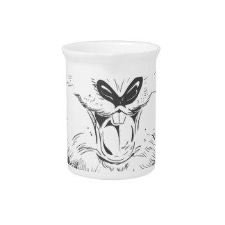 Conejito de pascua feliz jarra